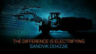 sandvik dd422ie revealing new ways to automate mining