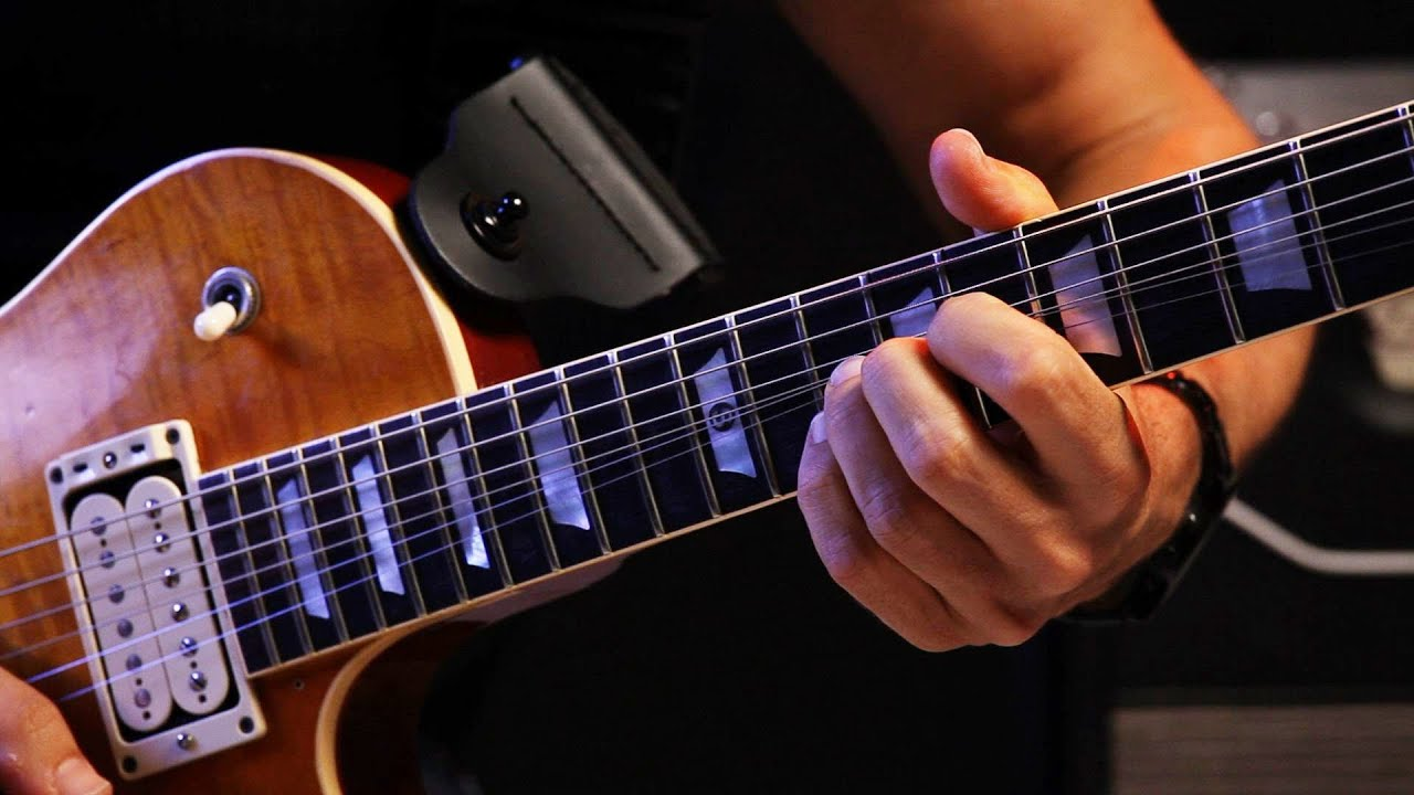 how to play 2 fret bends on strings 1 3 heavy metal guitar youtube