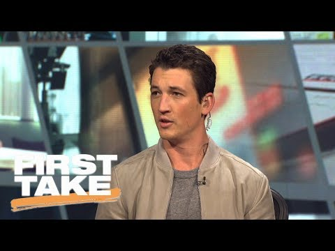 Miles Teller talks new movie, the Eagles, Lonzo Ball, the 76ers and more  First Take  ESPN