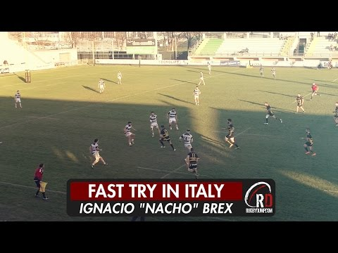 Rugby Viadana score one of the quickest ever tries from a restart!