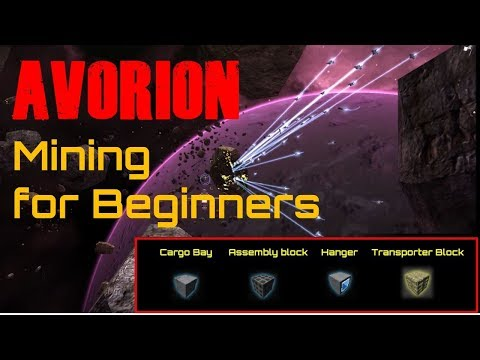 Avorion: Mining For Beginners