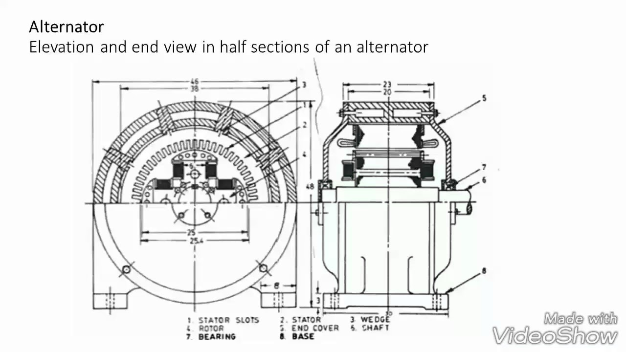 Alternators Tracing Of Panel Wiring Diagram Of An Alternator