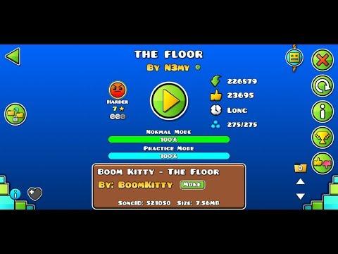 Прохождение уровня The Floor - Geometry Dash