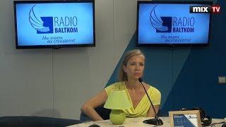 "Балерина Виктория Янсоне в программе ""Зеленая лампа""  #MIXTV"