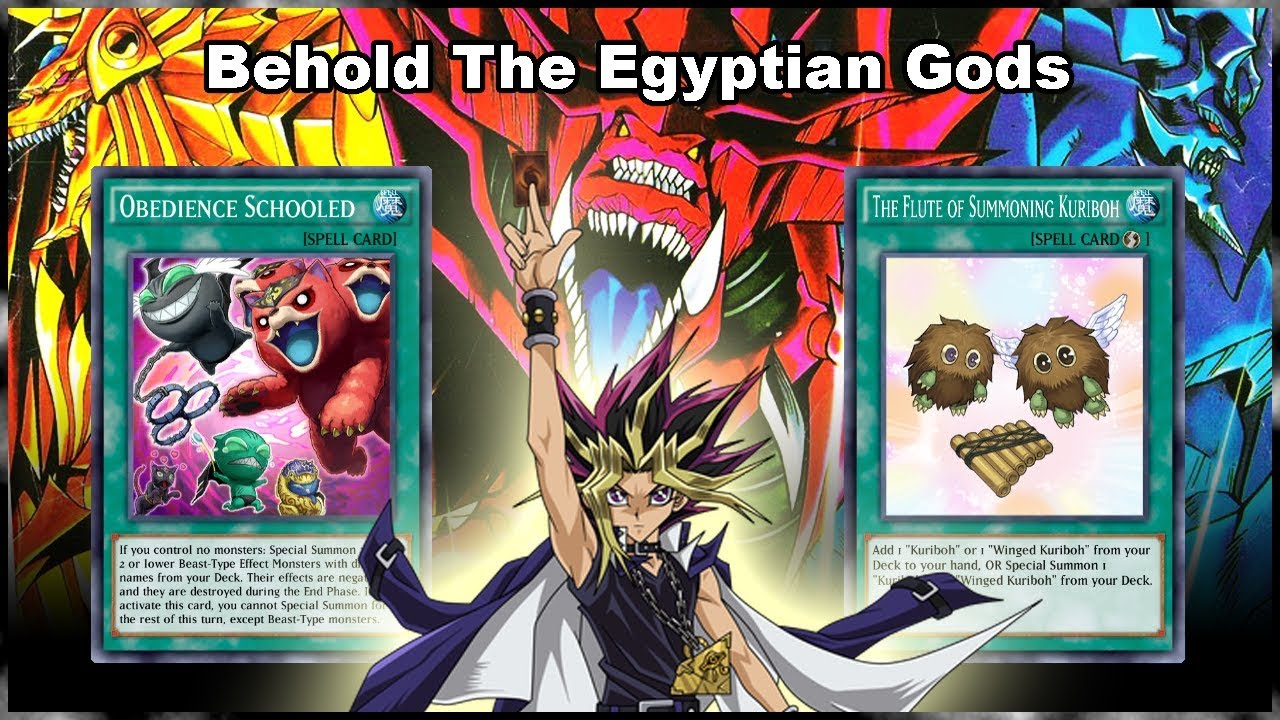 Egyptian Anime Girl Characters