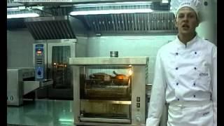 видео Гриль для кур ATESY Командор 5Э-Т