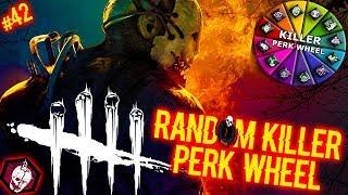 Random Killer Perk Wheel #42 - PERK ROULETTE! - Dead By Daylight