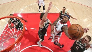 Bradley Beal Career High 55 Points vs Bucks! 2019-20 NBA Season