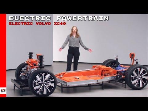 Electric Volvo XC40 Recharge EV Electric Powertrain