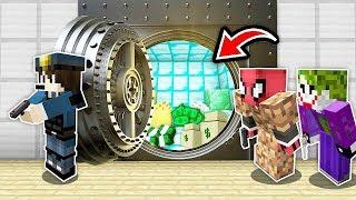 FAKİR GİZLİ KÖY BANKASINI SOYDU! 😱 - Minecraft