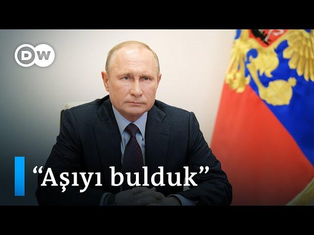 Putin Corona virüse karşı ilk aşının kızı üzerinde denendiğini duyurdu - DW Türkçe