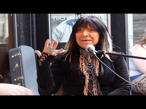 Buffy Sainte-Marie Live on Mulligan Stew's JUNO Couch