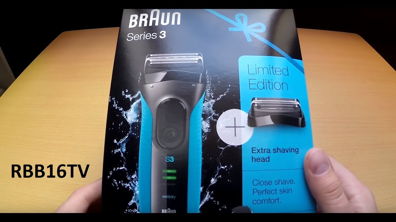 Braun Series 3 3020s-W Wet and Dry Electric Shaver Machine .