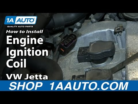 How to Replace Ignition Coil 01-05 Volkswagen Jetta or Golf