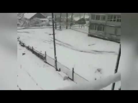 Хабаровский край побил рекорд по раннему снегу 19 сентября