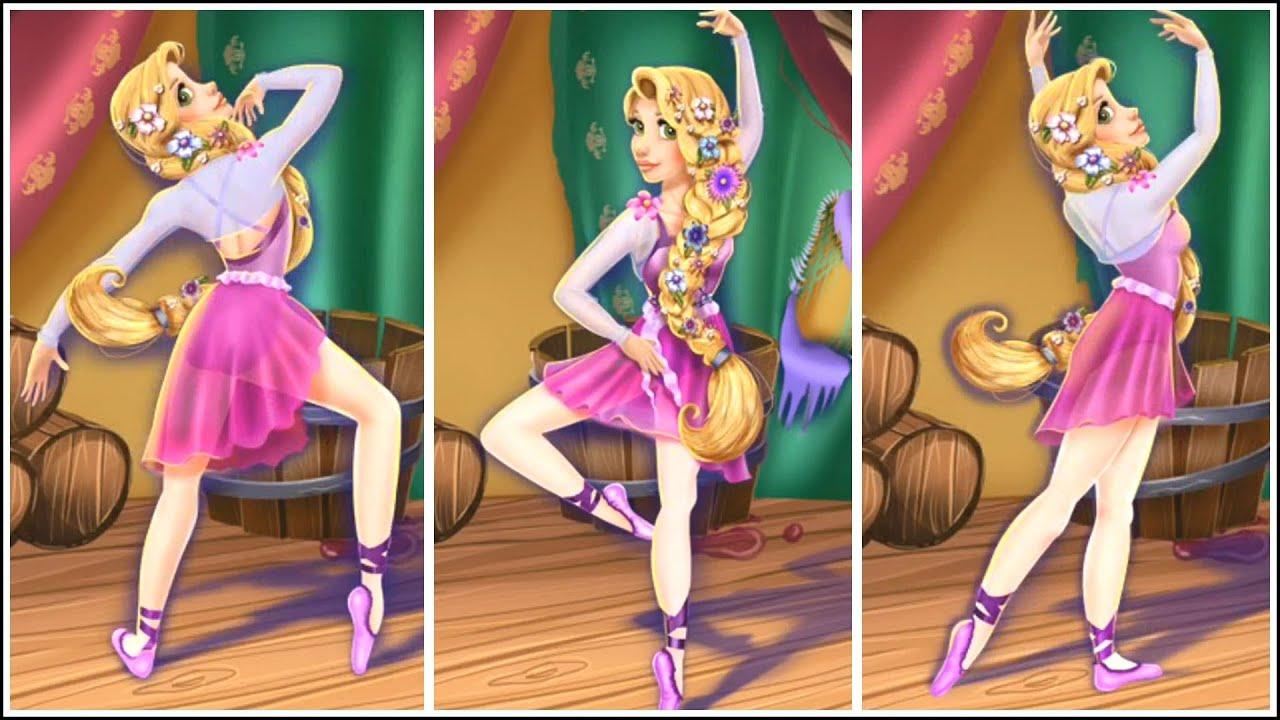 Disney Princess Rapunzel Games Rapunzel Ballet Rehearsal