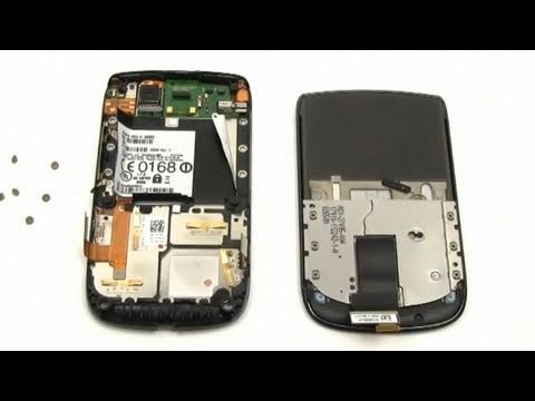 BlackBerry Torch 9800 LCD Screen Repair Directions