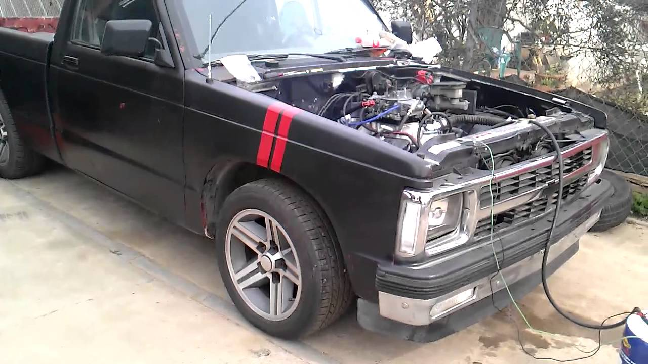 1992 chevy s10 with carbed sbc 350 vortec youtube wiring diagram for 1992 chevrolet pickup