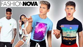FASHION NOVA MEN | IS IT WORTH IT?! (try on haul)