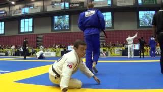 IBJJF Dallas Open 2016 - Braden Masters (Genesis) vs. Gabriel Martins (Intergracao)