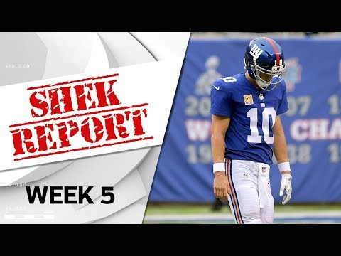 Top 3 Fails of Week 5 | Shek Report | NFL