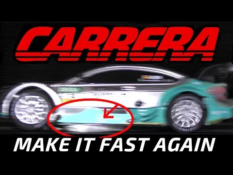 Carrera slotcar racetrack – 100% clean in less than 5 min. ✰✰✰✰✰