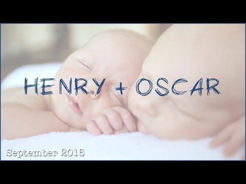 Henry and Oscar | September 2015