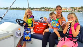 1st Picnic on the Boat &amp Family Game Night!!!