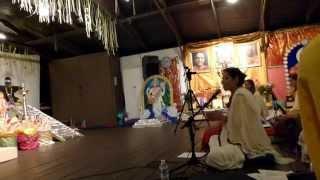 "Clip #3 Sivaratri at Sivananda Bahamas 28Feb2014 ""Jaya Shiva Shankara Bom Bom Hara Hara"""