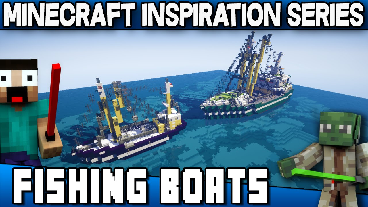 Epic Fishing Boats - Keralis Minecraft Inspiration Series ...