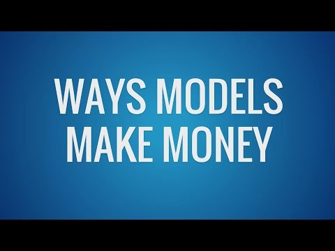 Ways Models Make Money in the Modeling Industry (Swimsuit, Fashion, Runway, etc)