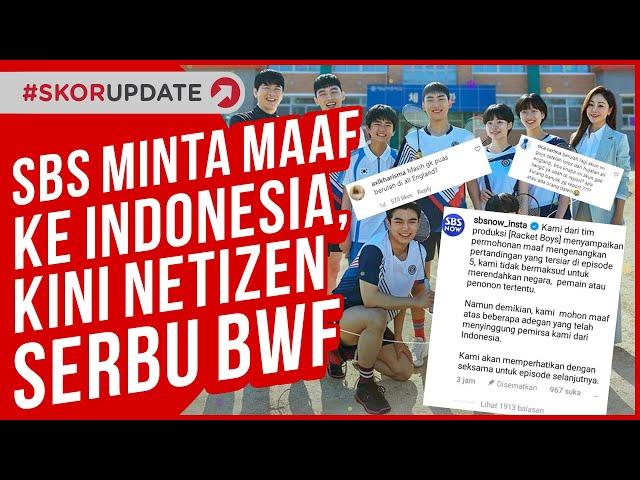 Permintaan Maaf dari SBS soal Racket Boys ke Indonesia, Kini Netizen RI Serbu BWF