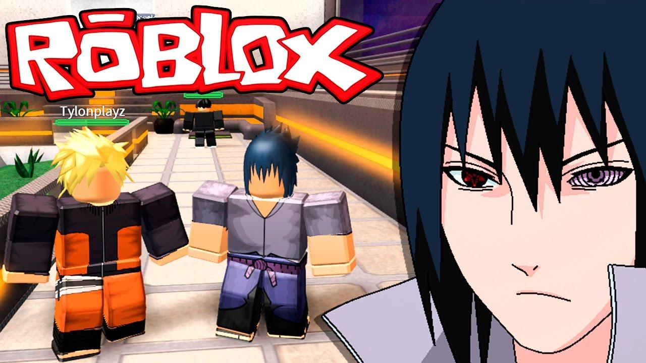 Roblox → SASUKE UCHIHA!!