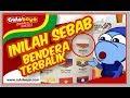 Culoboyo Geram Bendera Indonesia Terbalik SEA Games 2017 Malaysia ShameOnYouMalaysia
