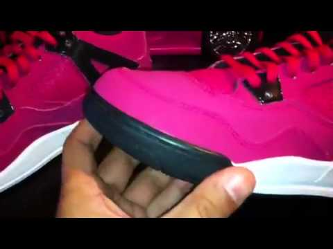8945578e0fac93 Girls Jordan 4 Retro PS Voltage Cherry - from Mrpremiosneakers - YouTube