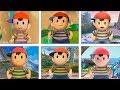 Super Smash Bros Ultimate | Ness Evolution | 1999-2018