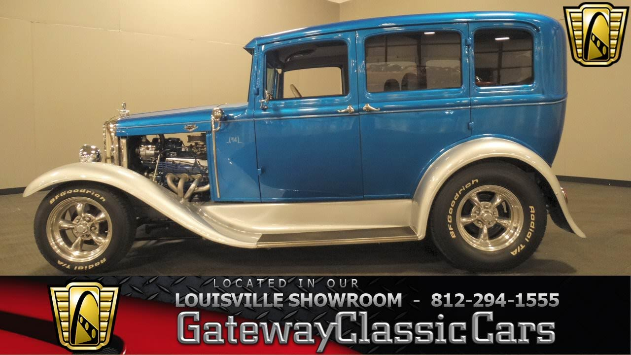 1931 Ford Model A Fordor Sedan - Louisville Showroom - Stk #1032 ...