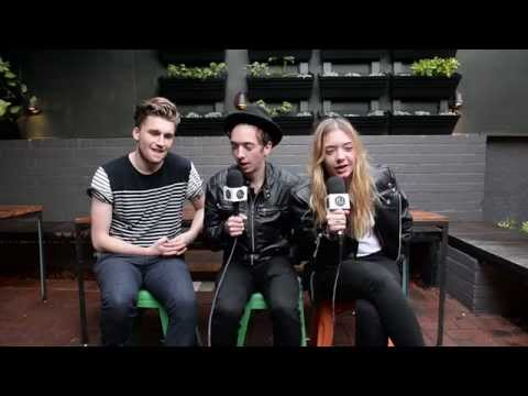 Marmozets (UK) talk about touring with Muse and Splendour In The Grass
