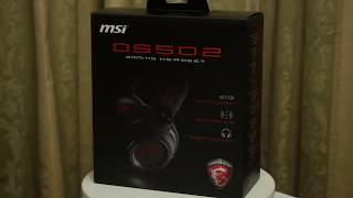MSI DS502 Gaming Headset is it's Good or Bad
