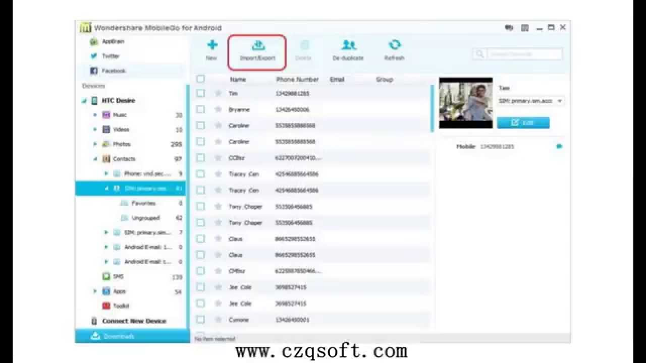 Android Manager Wifi Is The Best Android Contact Manager For You Youtube