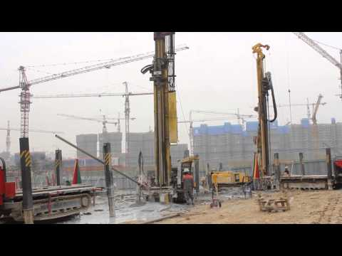 Desco Drill SP7000 DTH Drilling for Geothermal