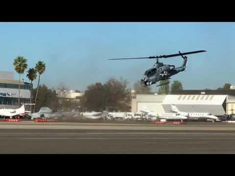 SuperCobra departing Santa Monica Airport Rwy21