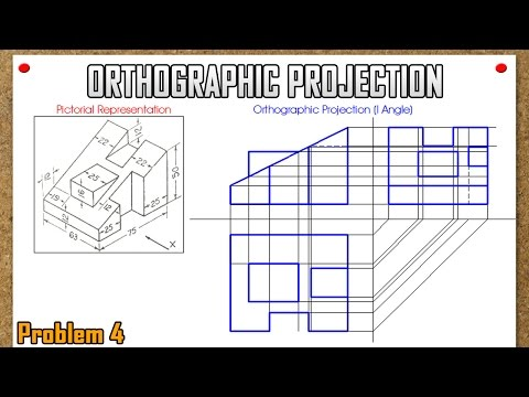 Orthographic Projection_Problem 4