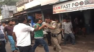On Cam: Locals in Bengal thrashes cop for harassing