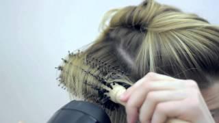 NATURALBRUSH   Профессиональные советы укладки волос(NATURALBRUSH-профессиональные щетки для домашнего использования. Брашинг маленький из натуральной щетины кабан..., 2014-06-09T16:43:27.000Z)