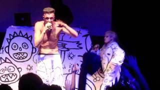 Die Antwoord - In Your Face (live @ Royale Boston 10.26.10)