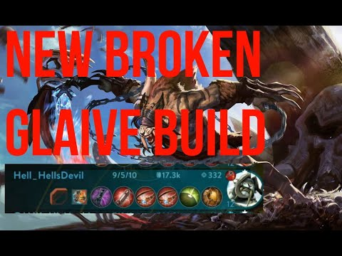 New BROKEN Glaive Build!!! Vainglory 5v5