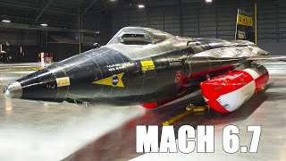 This 60 year old Aircraft is so Fast it Can Reach Space: North American X-15 Story