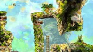 Braid Walkthrough, World 2-4 Leap Of Faith