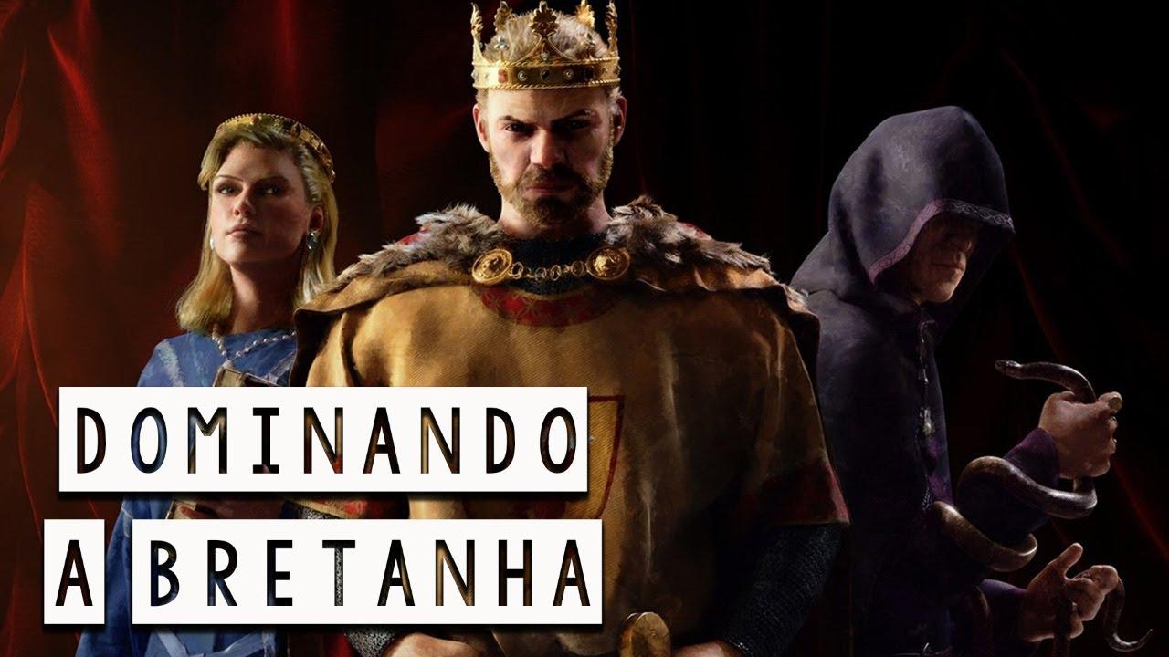 """A Conquista da Bretanha - Os Filhos de Ivar """"O Sem Ossos"""" Crusader Kings III  - Foca na História"""